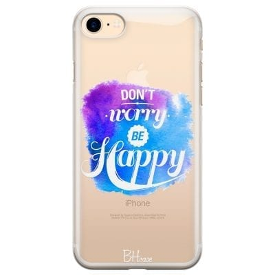 Don't Worry Be Happy Case iPhone 7/8