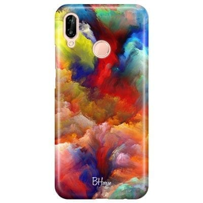 Dreamy Colors Case Huawei P20 Lite