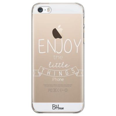 Enjoy Little Things Case iPhone SE/5S