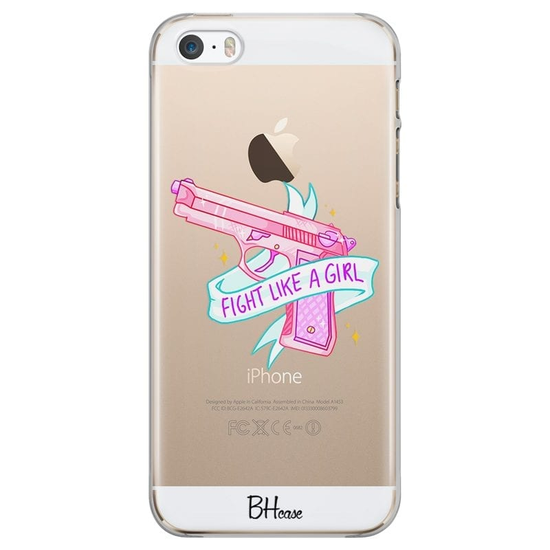 Fight Like A Girl Case iPhone SE/5S