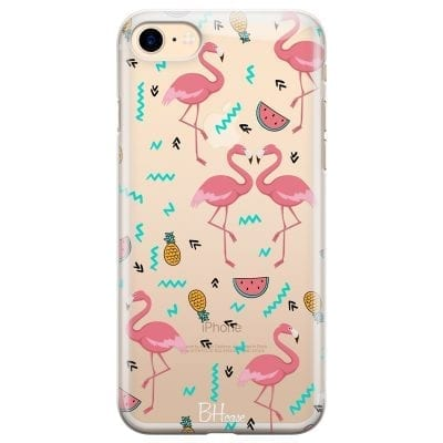 Flamingo Fruit Case iPhone 7/8