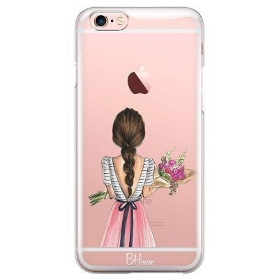 Floral Girl Case iPhone 6/6S