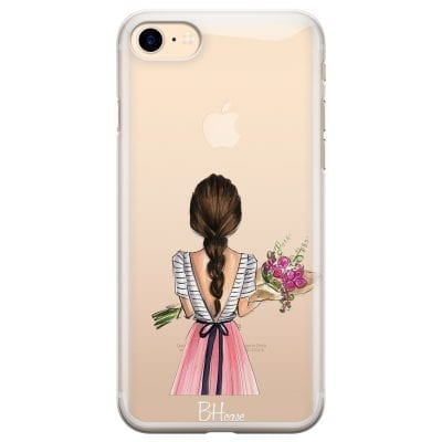 Floral Girl Case iPhone 7/8