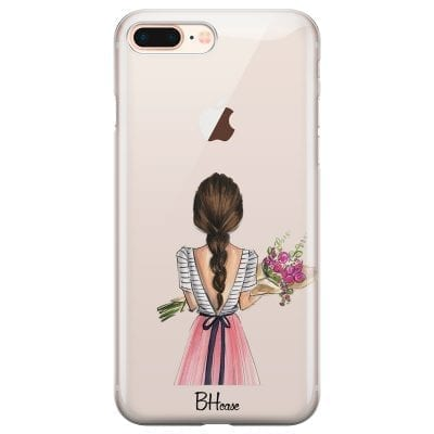 Floral Girl Case iPhone 7 Plus/8 Plus