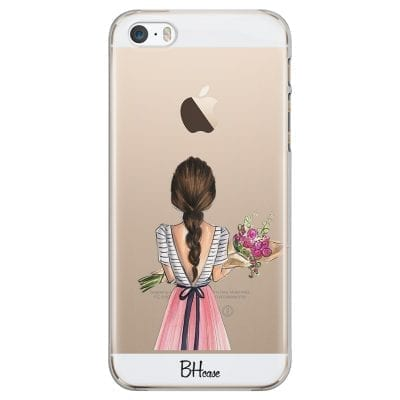 Floral Girl Case iPhone SE/5S