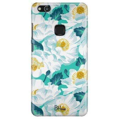 Floral Lime Case Huawei P10 Lite