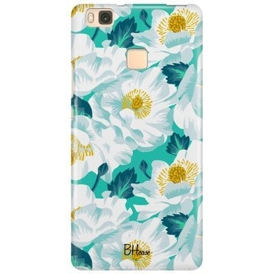 Floral Lime Case Huawei P9 Lite