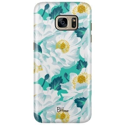Floral Lime Case Samsung S7 Edge