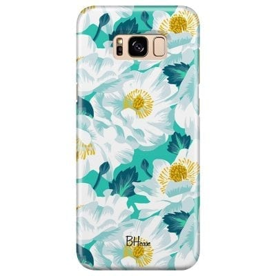 Floral Lime Case Samsung S8 Plus