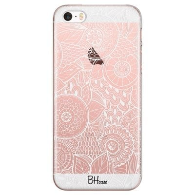 Flower Pattern Case iPhone SE/5S
