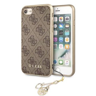 Guess Charms 4G Brown Case iPhone 8/7