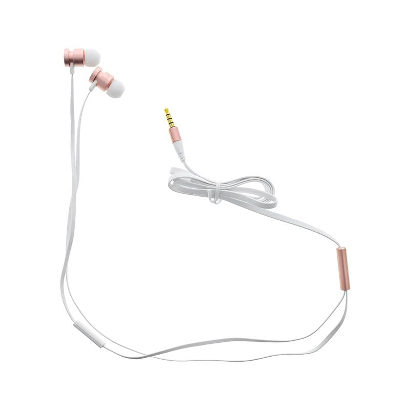 Guess Wired Stereo Headset White/Pink