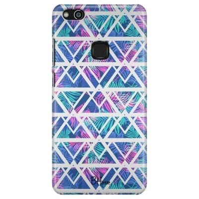 Leaves Geometric Pattern Case Huawei P10 Lite