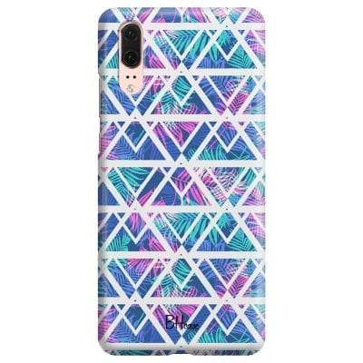 Leaves Geometric Pattern Case Huawei P20
