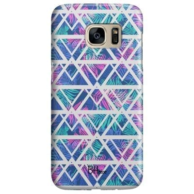 Leaves Geometric Pattern Case Samsung S7