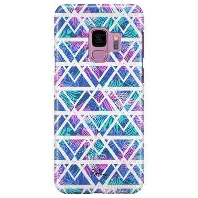 Leaves Geometric Pattern Case Samsung S9