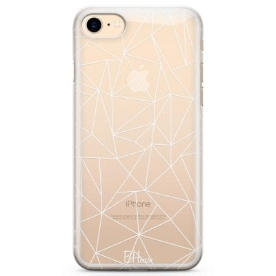 Lines White Net Case iPhone 7/8