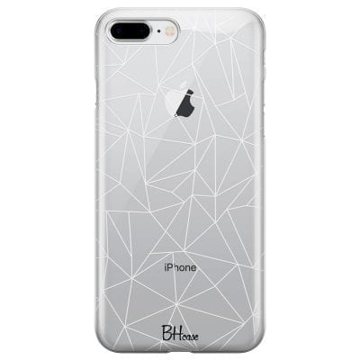 Lines White Net Case iPhone 7 Plus/8 Plus