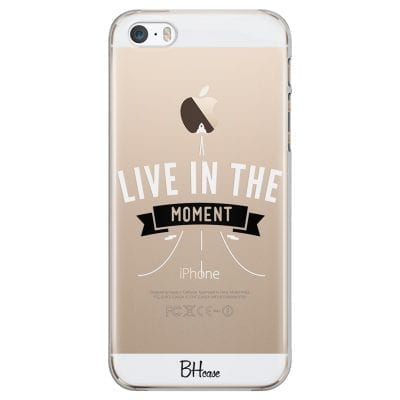 Live In The Moment Case iPhone SE/5S