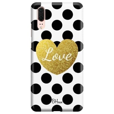Love Dots Case Huawei P20
