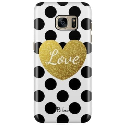 Love Dots Case Samsung S7 Edge