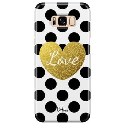 Love Dots Case Samsung S8 Plus