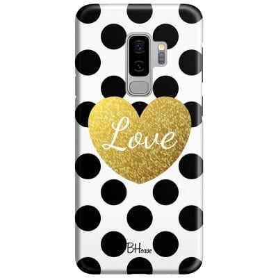 Love Dots Case Samsung S9 Plus