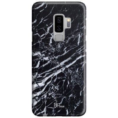 Marble Black Case Samsung S9 Plus