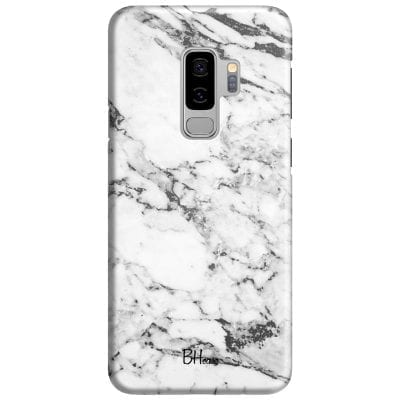 Marble White Case Samsung S9 Plus