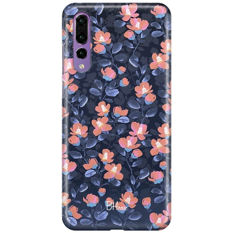 Midnight Floral Case Huawei P20 Pro