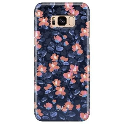 Midnight Floral Case Samsung S8 Plus