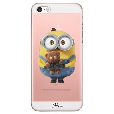Minion With Teddy Bear Case iPhone SE/5S