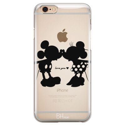 Minnie & Mickey Mouse Case iPhone 6/6S