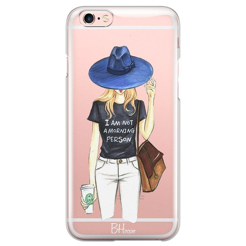 Morning Person Girl Case iPhone 6/6S