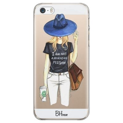 Morning Person Girl Case iPhone SE/5S