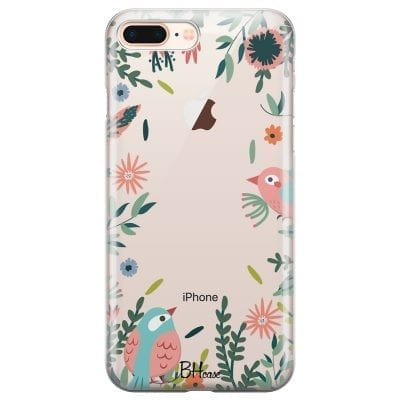 Nature Birds Case iPhone 7 Plus/8 Plus