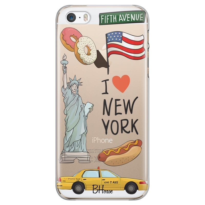 New York Case iPhone SE/5S