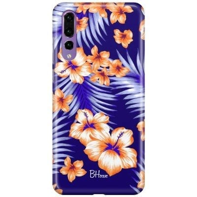 Night Floral Case Huawei P20 Pro