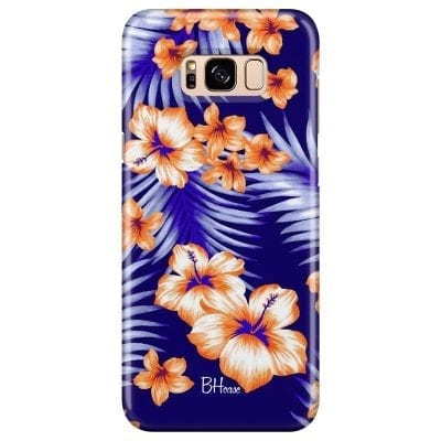 Night Floral Case Samsung S8 Plus