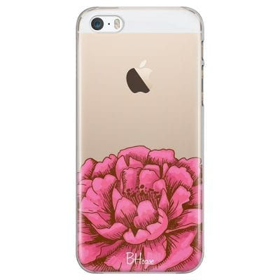 Peony Pink Case iPhone SE/5S