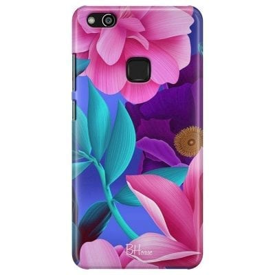 Pinky Floral Case Huawei P10 Lite