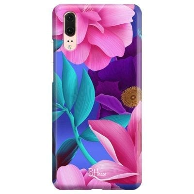 Pinky Floral Case Huawei P20