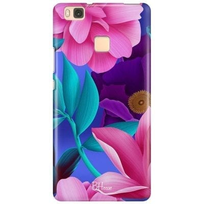 Pinky Floral Case Huawei P9 Lite