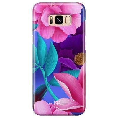 Pinky Floral Case Samsung S8
