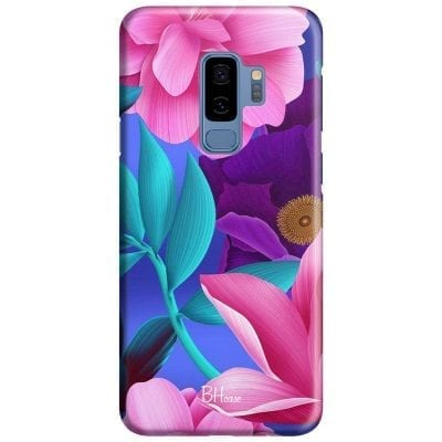 Pinky Floral Case Samsung S9 Plus