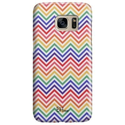 Rainbow Geometric Case Samsung S7