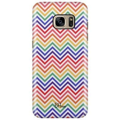 Rainbow Geometric Case Samsung S7 Edge