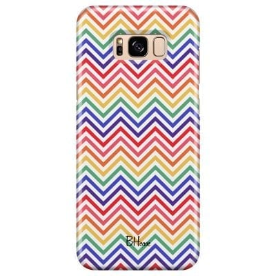 Rainbow Geometric Case Samsung S8 Plus