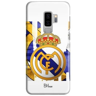 Real Madrid Logo Case Samsung S9 Plus