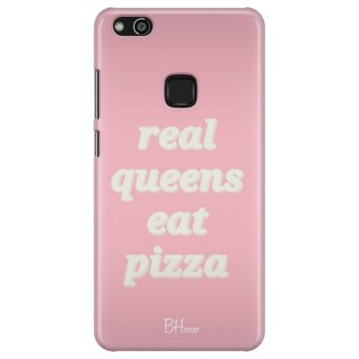 Real Queens Eat Pizza Case Huawei P10 Lite